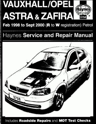 Vauxhall Zafira B Repair Manual - watermitede