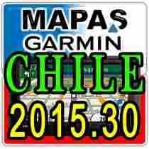 Mapas Para Gps Garmin De Chile 2015, Última Actualización