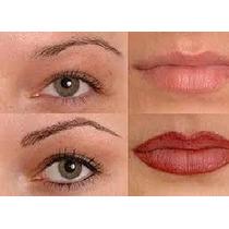 Micropigmentación O Maquillaje Permanente Con Capacitación