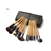 Set 18 Pinceles Y Brochas De Maquillaje Profesional Oferta