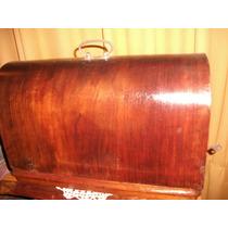 Maquina De Coser Antigua Con Tapa