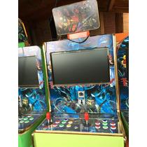 Maquina Arcade Con Tarjeta 200 En 1 Y Convector A Vga