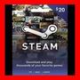 Tarjeta Steam Wallet Card $20 Usd Oferta !!!