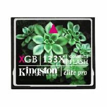 Compact Flash 16gb Elite Pro 133x Kingston Nikon