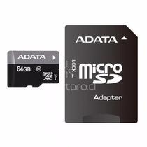 Memoria Micro Sd 64gb Adata Clase 10 - Smartpro Providencia