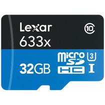 Memoria Lexar Micro Sd 32gb 633x 95mb/s Uhs-i Microsdhc