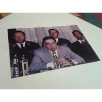 Fotografía Augusto Pinochet Conferencia 1980