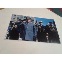 Fotografía Augusto Pinochet En Acto
