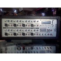 Power Mixer Cabezal 8 Canales Usb 300 Watts