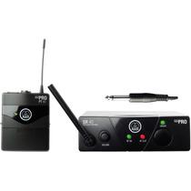 Transmisor Akg Wms 40 Mini Inalambrico Uhf Para Instrumento
