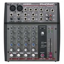 Mixer Am220 2 Canales Mono, 2 Estéreo Phonic (cod.207)