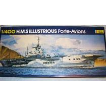 Portaviones Hms Illustrious (r-87) 1:400 Heller