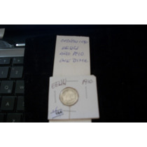 Moneda Eeuu Dime 1910 Plata