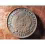 Moneda Republica Argentina 1891 Dos 2 Centavos Cobre 3 Cms