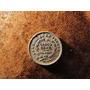 Antigua Moneda De Plata 0,9 Bolivia 1889 Cinco Centavos