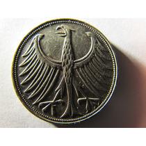 Moneda Alemana De Plata 5 Mark 1972 Juegos Olimpicos Munich