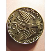 Moneda Alemana De Plata 10 Mark 1972 Juegos Olimpicos Munich
