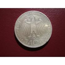 Moneda Plata, 10 Marcos 1989 Conmemorativos Alemania Federal