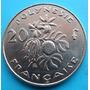 Moneda Polinesia Francesa 20 F