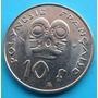 Moneda Polinesia Francesa 10 F