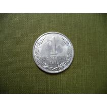 Moneda Chilena 1 Centavo 1975