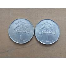 Moneda Chilena De Un Escudo Años 1971 - 1972