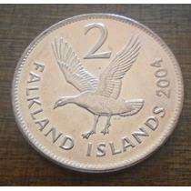 Moneda Islas Malvinas (falkland Island) Valor $ 2.500