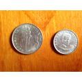 2 Monedas Antiguas Chilenas- Año 1971 Y 1972