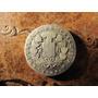 Antigua Moneda Plata Chile Dos Real 1848 Rompiendo Cadenas
