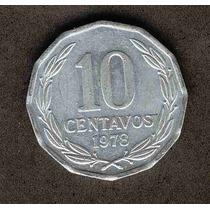 Moneda 10 Centavos Año 1978