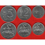 Lote De 3 Monedas De Lituania 1-2-5 Cents Año 1991