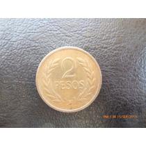 Moneda Colombia 2 Pesos1977