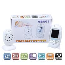 Monitor Bebe Visión Nocturna Doble Voz Temperatura Y Musica