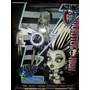 Monster High Frankie Stein Con Luz Y Sonido.-