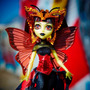 Monster High Boo York Luna Mothews (hija Del Hombre Polilla)