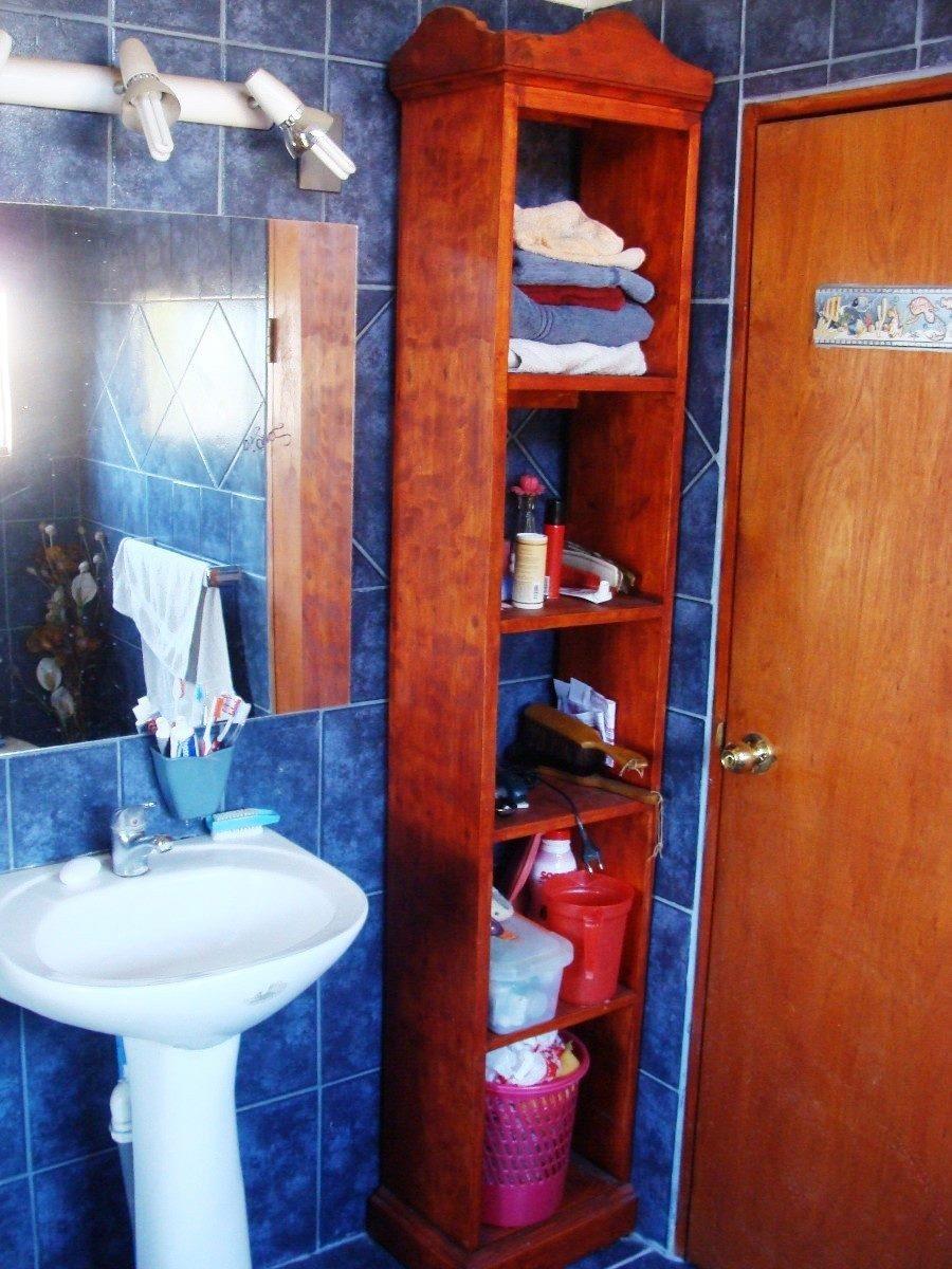 Mueble Toallero Con Estanterias Para Baños Estilo Vintage ...