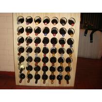 Cava Para Guardar Botellas De Vino. Capacidad 49 Botellas.