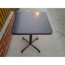 Mesa De Pedestal ,bar