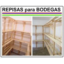Repisas - Especiales Para Bodegas, A Medida.