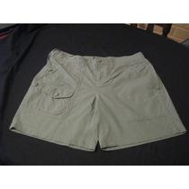 Shorts De Mujer Polo Jeans Company Talla 4 Color Verde