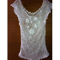 Chaleco Crochet De Buenos Aires 100% Algodon