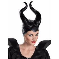 Cuernos Maléfica Disney Disfraz Halloween Fiesta Juego Latex