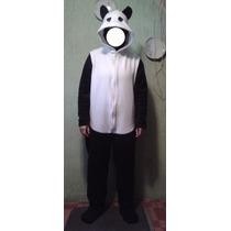 Pijama/disfraz Polar Enteritos Oso Panda Kigurumi Adultos
