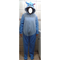 Pijama/disfraz Polar Enteritos Stitch Kigurumi Adultos