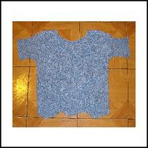 Hermosa Polera Tejida A Crochet