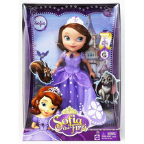 Princesa Sofia La Primera, Muñeca Grande 27 Cm, Mattel!