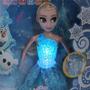 Muñeca Frozen Musical Y Con Luces