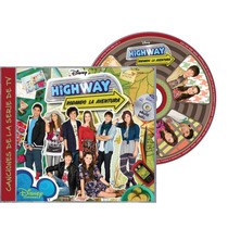 Highway:rodando La Aventura Disney Channel Cd Nuevo Sellado