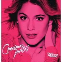 Violetta -crecimos Juntos- Cd Album 2015 Entrega Inmediata!