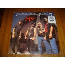 Vinilo Slayer / Decade Of Aggression (1ra Edicion) Numerado